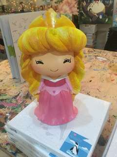 Sleeping Beauty XL Plaster Money Bank (Painted)