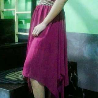 REPRICED!! Purple Long Dress