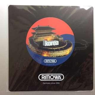 Authentic Rimowa Korea Sticker