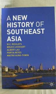 A new history of SEA Textbook NUS