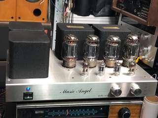 Music Angel Model XD-SE 膽合併擴音機