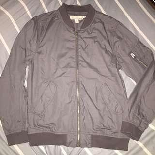 H&M Bomber Jacket (Gray)
