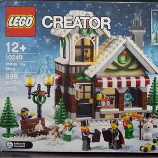 LEGO Winter Toy Shop ( retired product )
