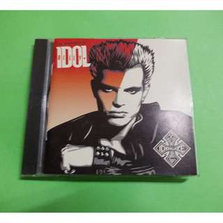 CD BILLY IDOL: THE VERY BEST OF BILLY IDOL . IDOLIZE YOURSELF ALBUM (2008) POST PUNK  NEW WAVE