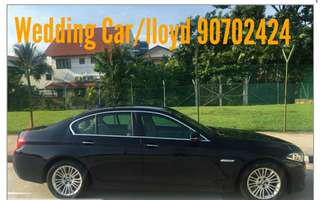 Luxury BMW 5 Series Wedding Car Rental