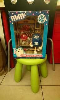 全新M&M's存錢筒鬧鐘