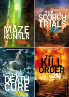 The Maze Runner 4-in-1