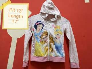 Disney princess kids hoodie free postage
