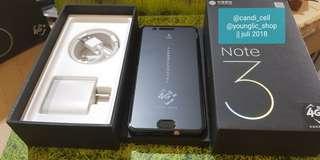 New garansi distributor Mi note3 6/128gb