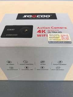 SOOCOO; S300 Action Camera in Matt Black