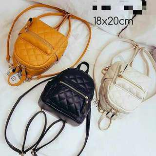 Zara mini backpack basic quilted original