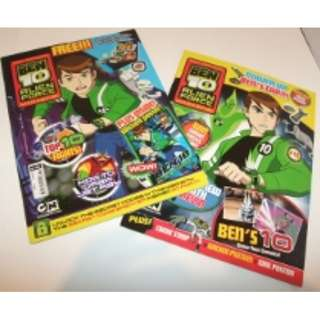 BEN 10 ALIEN FORCE MAGAZINE COLLECTION - Full of fun and excitement