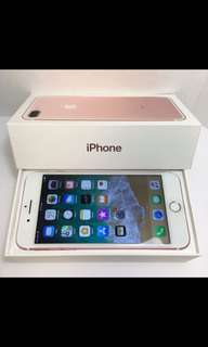Unlocked Apple iPhone Rose Gold 7 Plus 32GB