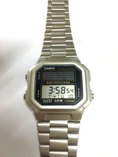 Casio Solar Powered
