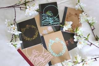 Embossed Notebooks