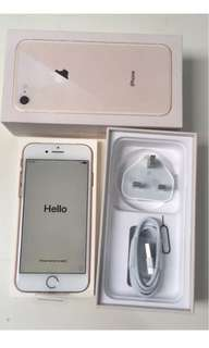 New iPhone 8 64GB Gold