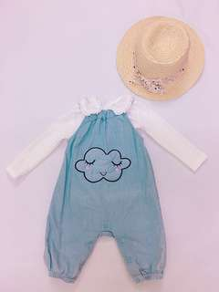 Baby dungarees set