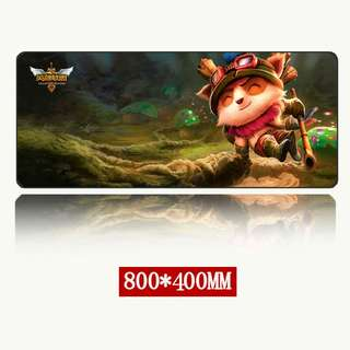 Brand New LoL large Cloth gaming mousepad 800mm by 300mm