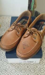 Ladies 8.5 a/o Authentic Original Sperry Top Sider boat shoes