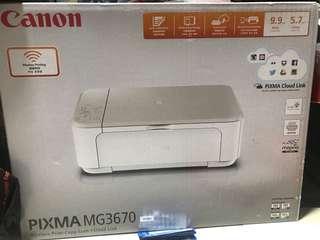 Canon-PIXMA MG3670(white)