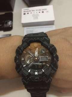 全新正版 Casio G-SHOCK 小針會跑 45°抬手燈 男生防水放震手錶 青年運動手錶 個性手錶 電子手錶腕錶