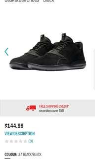 Nike Jordan Eclipse Leather Triple Black sz9