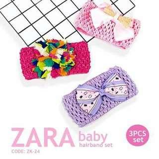 3pc Zara Hairband - ZK24