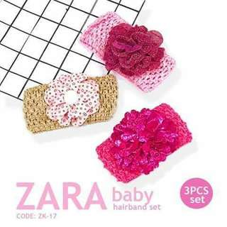 3pc Zara Hairband - ZK17
