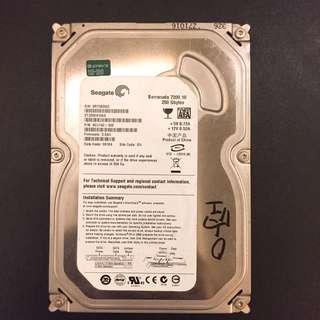 🚚 清倉 大特賣 硬碟3.5吋 250G