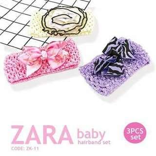3pc Zara Hairband - ZK11
