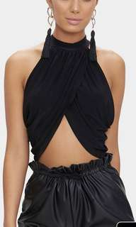 Pretty Little Thing Wrap top BNWT (PRICE DROPPED TO $20 if u can meet tmrw)