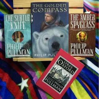 His Dark Materials trilogy + Lyra's Oxford