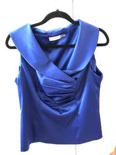Calvin Klein Sleeveless Top/Blouse Size Large