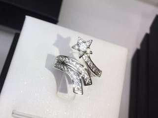 🚚 現貨出清🛍香奈兒同款流星開口戒指 可調大小戒指
