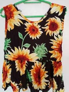 Sunflower Barbie Blouse