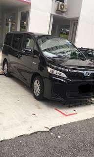 Toyota Voxy $30 onwards