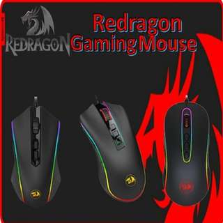 ♣Redragon ♣Professional Gaming Mouse Series ♣1 Year Local Warranty♣