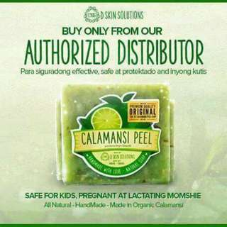 Calamansi Peel Soap