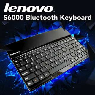 USE QOO10 COUPON: ORIGINAL LENOVO BLUETOOTH KEYBOARD for iPad iPhone Samsung Android Tablet Laptop