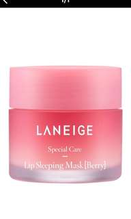 #buy1get1free Laneige Lip Sleeping Mask (Berry)
