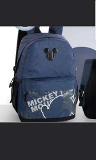 In stock Disney mickey mouse School Bag For Primary 2 to 5 School children Size is 32  × 18 × 45cm.