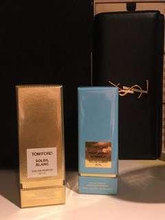 Tom Ford 阿瑪菲海岸藍色 夏日沙灘 金色