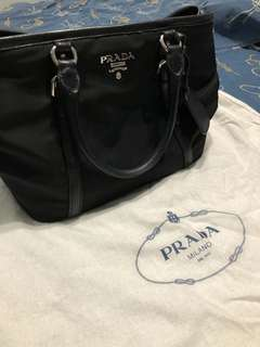 Authentic Prada Tessuto
