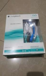 Logitech h150 stereo headset with noise cancelation