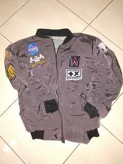 Patched bomber