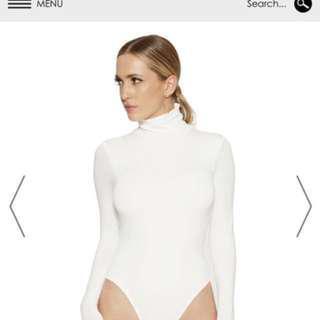 BNWT Naked Wardrobe Turtleneck Bodysuit Small