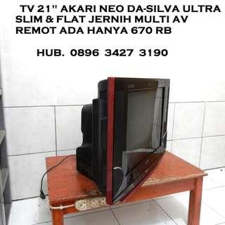 Tv 21 Akari Neo Da-SiLva Ultra SLim Jernih Remot Katapang SoReaNG