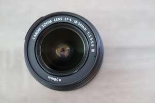 Lensa Kit Canon DSLR EFS 18-55 III