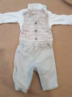 Mothercare Full Baby Boy Pants Set.