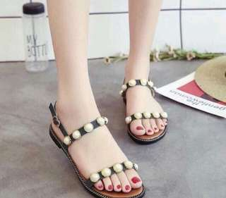 PEARL ACCENTED SANDALS
